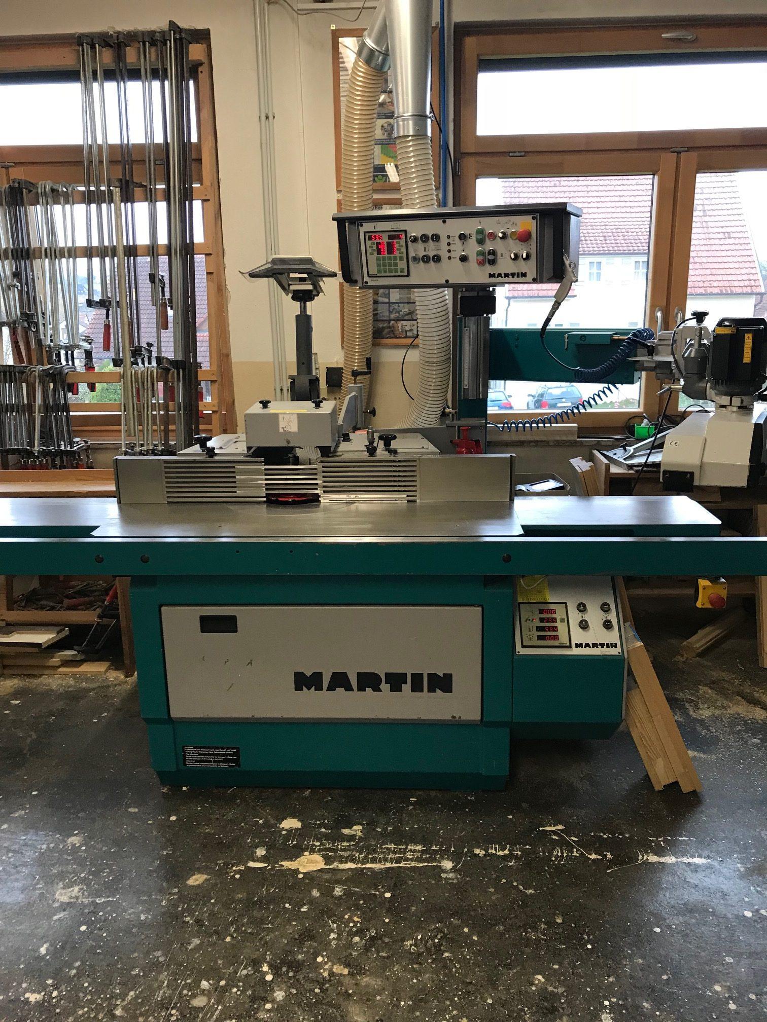 Neue Tischfräse der Firma Martin