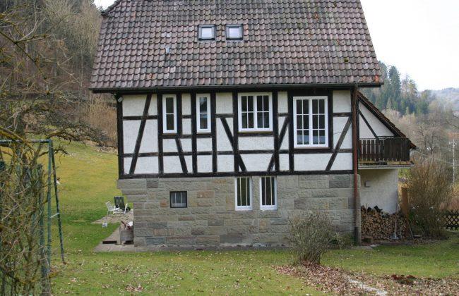 Holzfenster zweiflüglig weiß