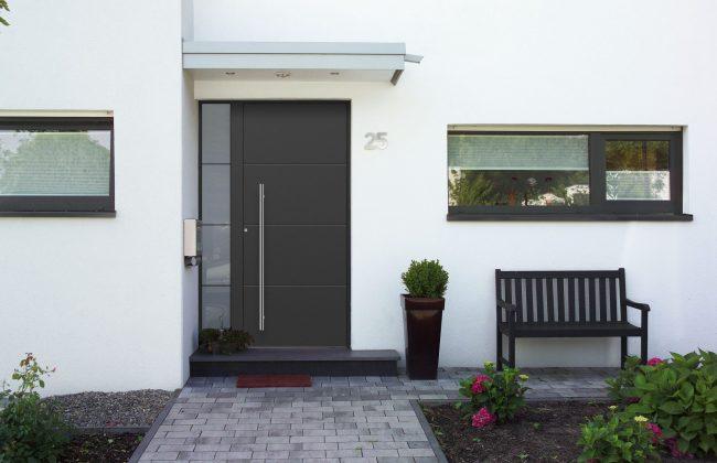 Aluminium Haustüre